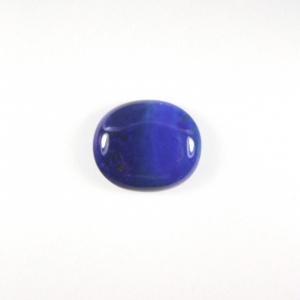 lapis lazuli cabochon plat