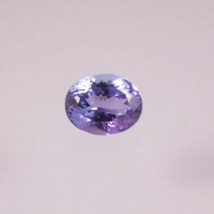 tanzanite ovale de belle dimension