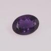 améthyste ovale violet