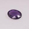 améthyste ovale violet foncé briolette