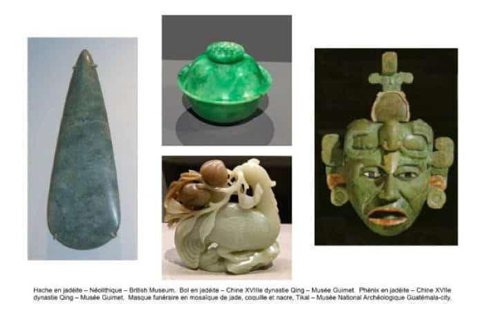 objets en jade-jadéite