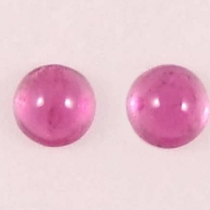 cabochons roses