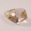 quartz à rutile doré facetté