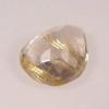culasse quartz facetté forme poire