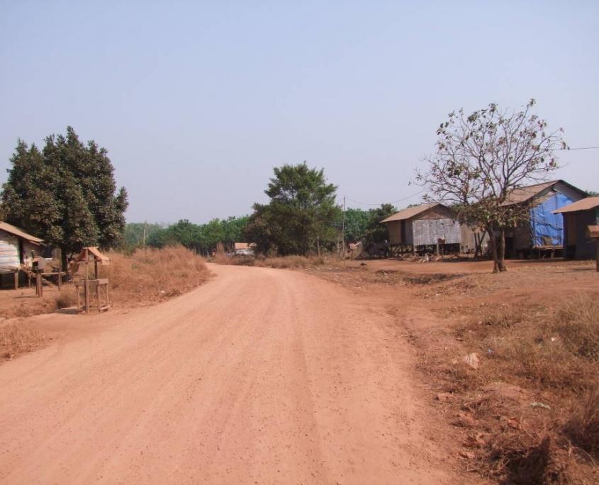 La région du Ratanakiri au Cambodge et les campements des mineurs