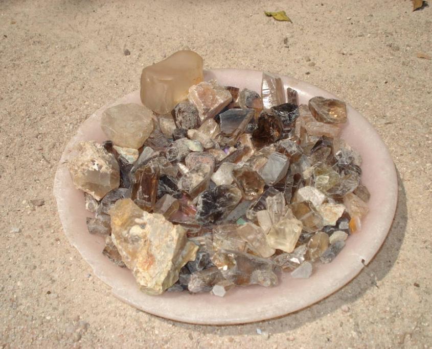 voyage à la recherche des pierres précieuses