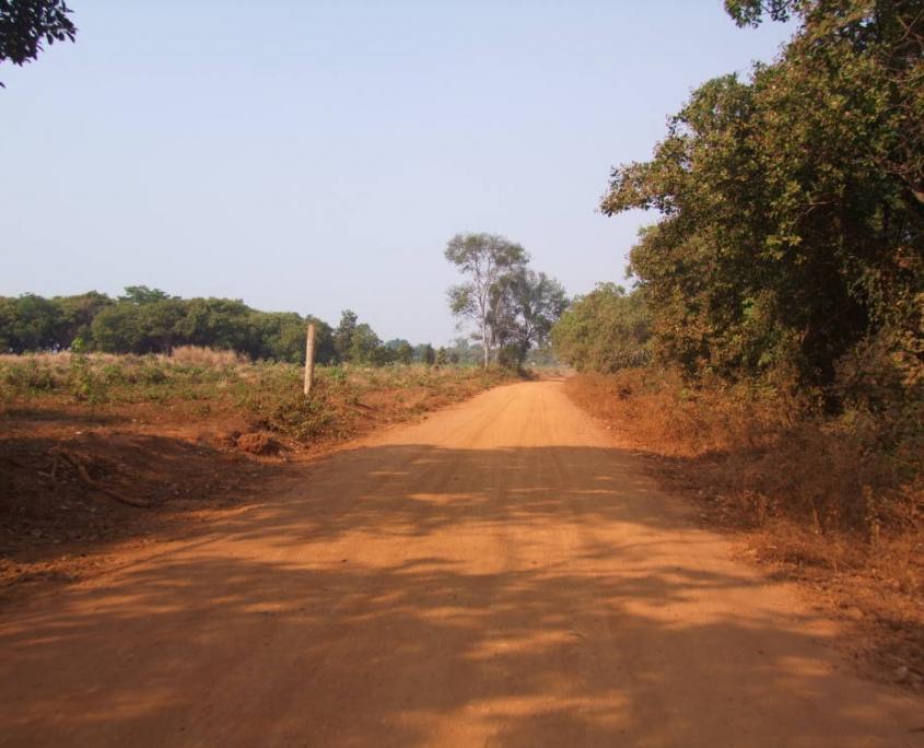 route de terre du Ratanakiri