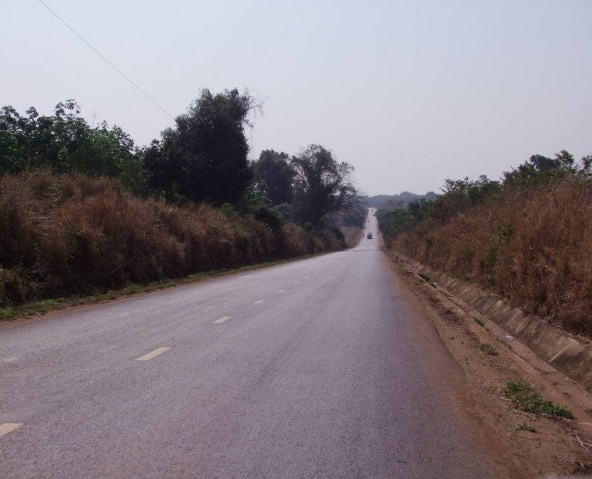 route de Banlung vers les mines de zircons