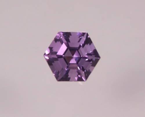 améthyste hexagonale