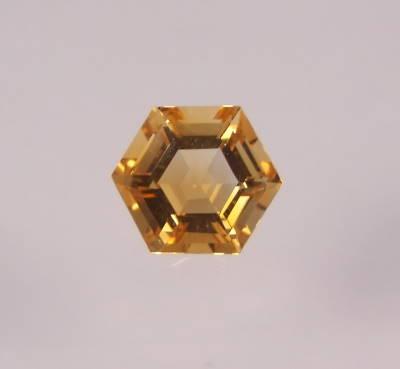 citrine hexagonale
